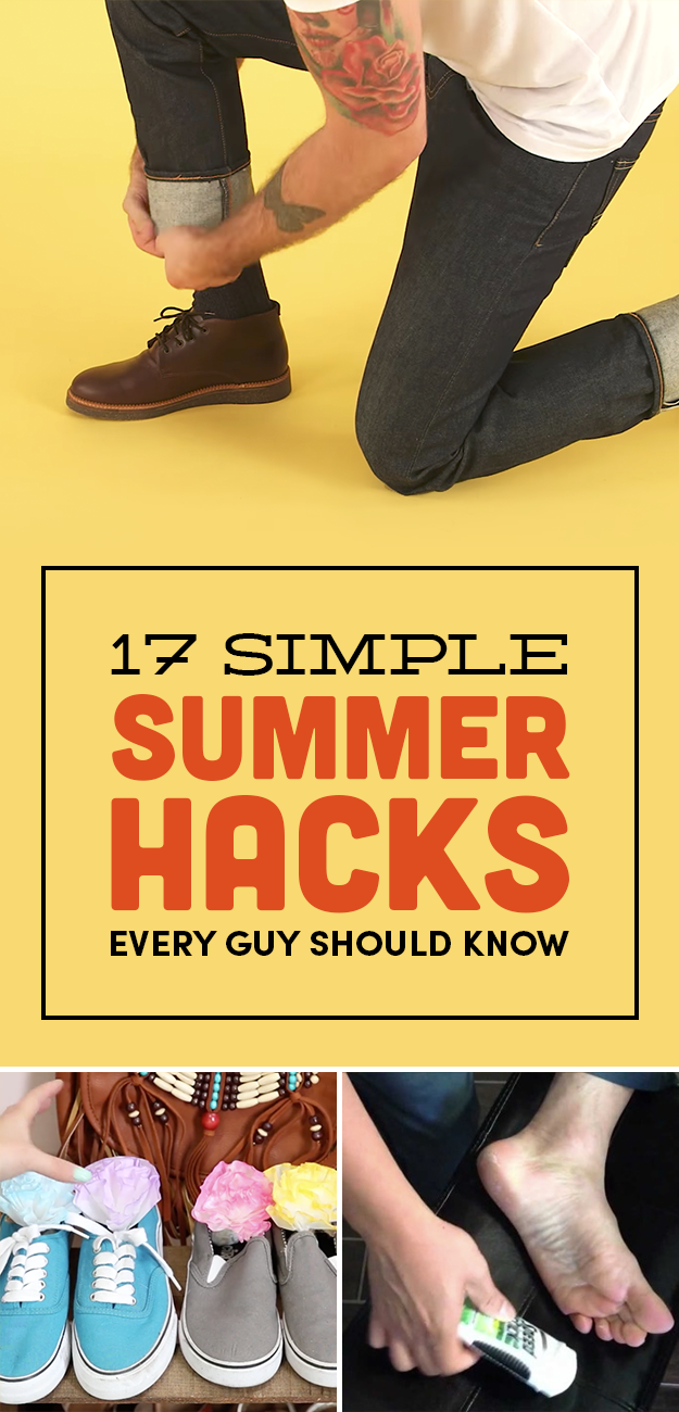 17 Legit Summer Hacks Every Guy Should Know