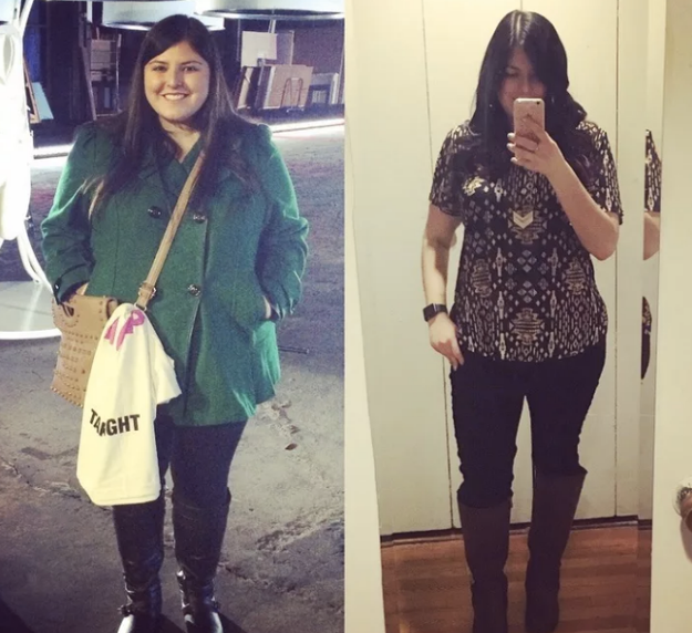 For an honest account of what goes into losing 85 pounds.