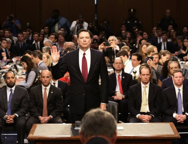 Thursday was a momentous day in US politics. The former FBI director straight up accused the Trump administration of lying and firing him in order to sway the Russia investigation.