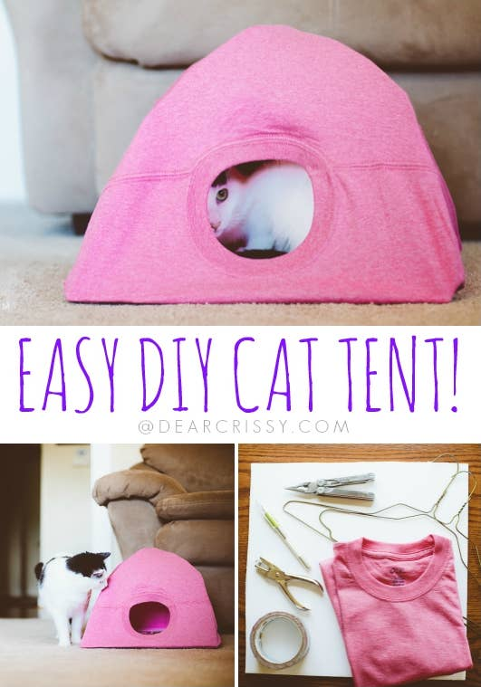 Meow! Find the super-easy DIY at Dear Crissy.