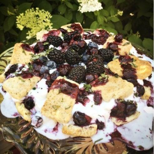 Blake's Wild Berry Shortcake