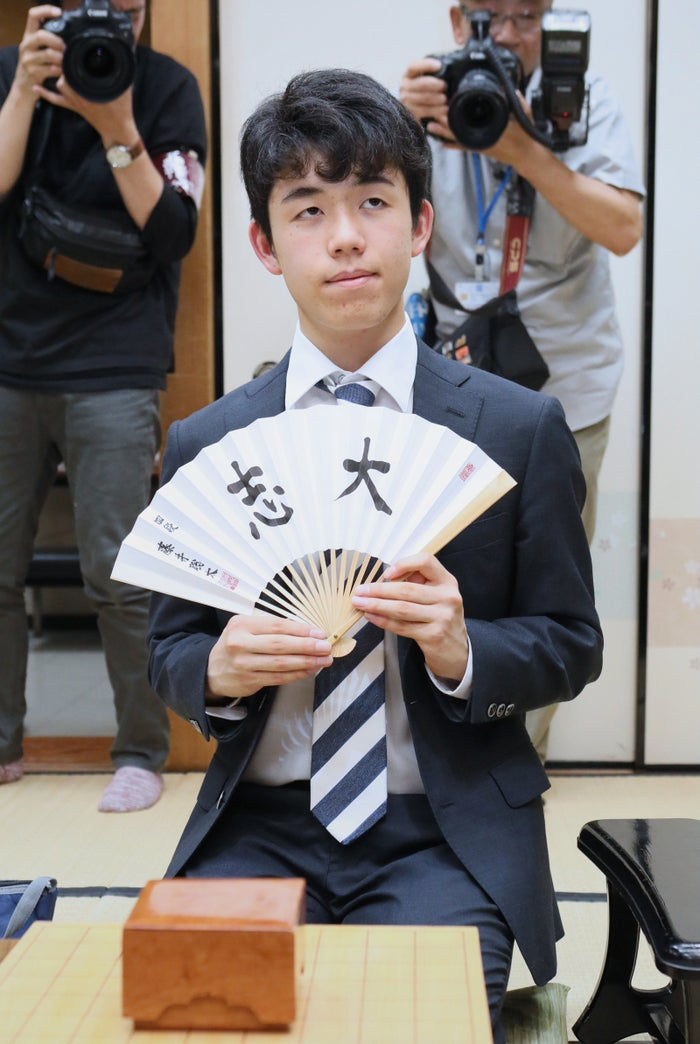 連勝記録を23に伸ばした藤井聡太四段(6月7日)