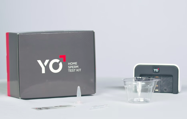 So you might call it fate when, one day in March, my team got a promotional email for the Yo Sperm Testing Kit.