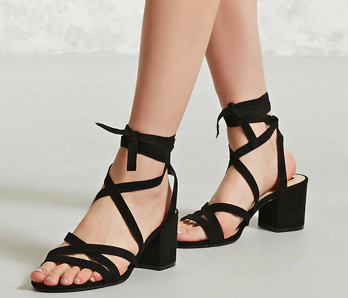 """Promising review: """"My boyfriend isn't the tallest so these are the perfect shoes for me! They're super comfortable and cute. I always get so many compliments when I wear them! They are true to size, too."""" —ClaireGet them from Forever 21 for $18 (originally $29.90).Sizes: 8.5"""
