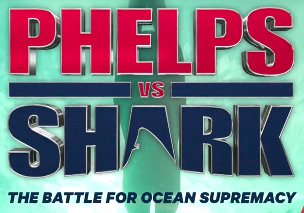 The televised event, called Phelps Vs. Shark: The Battle For Ocean Supremacy, is happening as part of Discovery's annual, much anticipated Shark Week.