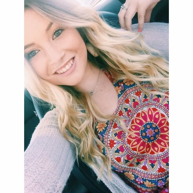 Savannah Alverson is a 21-year-old college student from Houston.