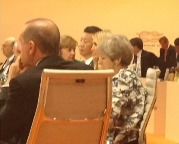 Ivanka Trump sat in for her dad at a G20 leaders meeting