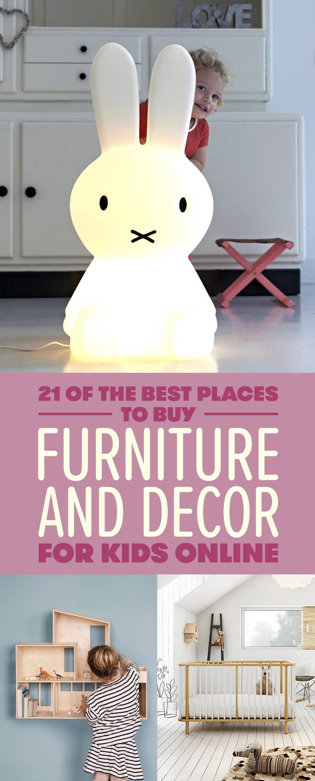 We hope you love the products we recommend  Just so you know  BuzzFeed may. 21 Of The Best Places To Buy Furniture And Decor For Kids Online