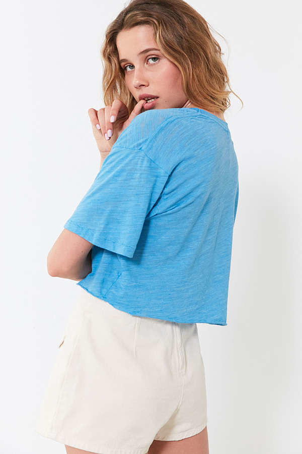 An airy T-shirt worthy of a spot in your summer ensemble rotation.