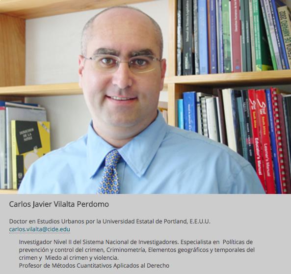 El profesor Carlos Vilalta.