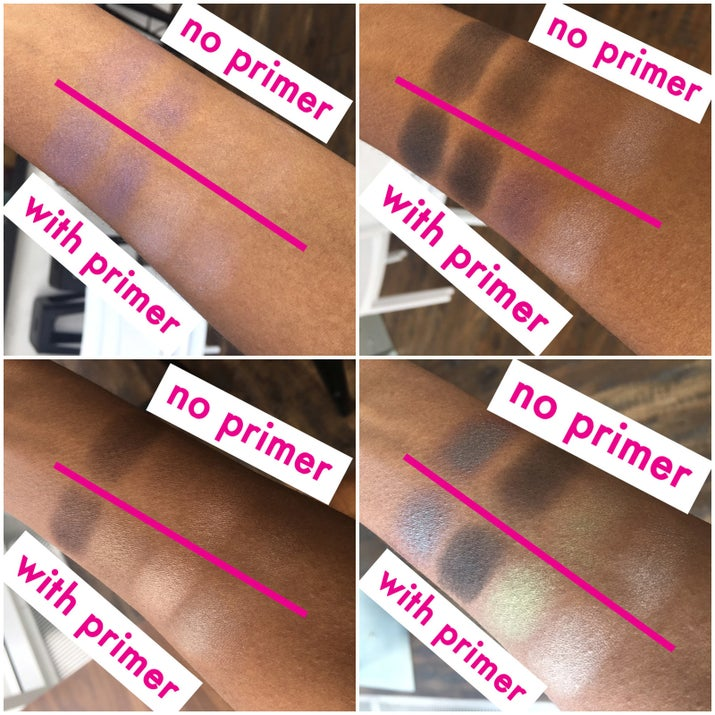 If you're a brown girl, then you already understand the struggle that is getting eyeshadow colors to accurately show up on your skin. In this case, Milani's eyeshadow primer seriously saved Wet n Wild's Color Icon collection from being a big, fat flop. Don't let the primer's light beige color fool ya. The product quickly melted onto my skin without a trace, so this primer is a fit for all complexions. As for its use, there was no fading, no creasing and the pigment actually stood out against my complexion. User quilantaylor04 said she refused to pay $20 for eyeshadow primer when an equally effective AND way more affordable option already exists. I like the way you think, quilantaylor04!Get the Milani Eyeshadow primer for $5.67 and the Wet n Wild Color Icon Collection starting at $5.81 at Amazon.And now, let's take a closer look at how I applied the Wet n Wild Color Icon Collection...