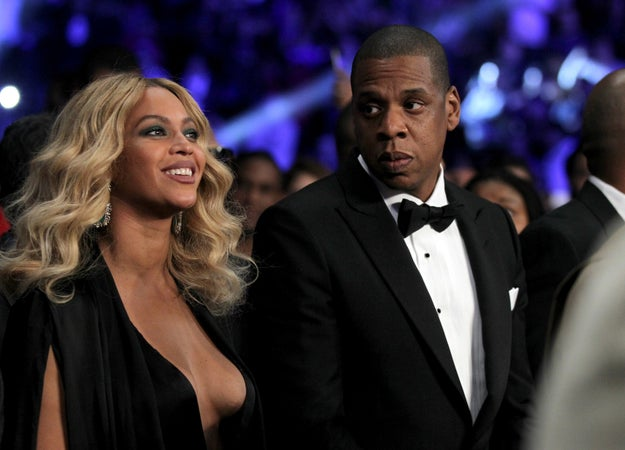 But because we're dealing with artists, Beyoncé and Jay-Z figured the best way to shed some light on their issues would be through song.