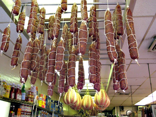 So you probably noticed a lot of conversation on Twitter this morning about capicollo and soppressata.