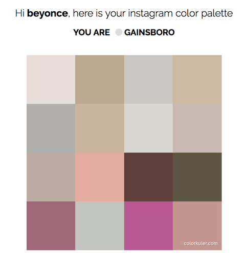 Do You Know The Color Palette Of Your Life