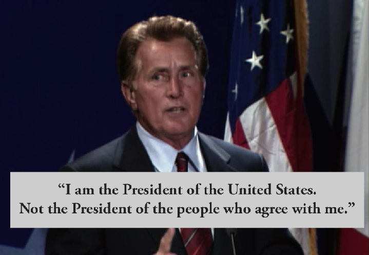 West wing quotes bartlet homosexuality in christianity