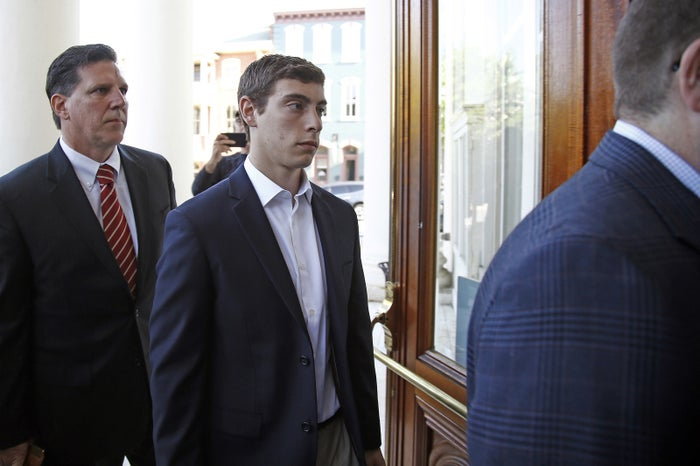 Jonah Neuman, one of the Beta Theta Pi brothers charged in Timothy Piazza's death.