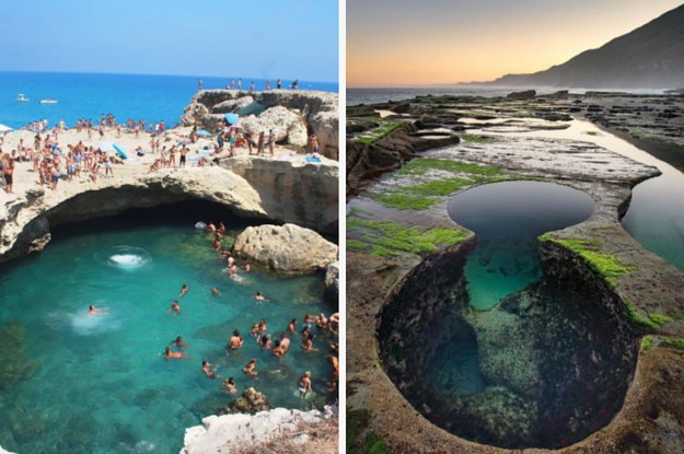 19 natural pools around the world that 39 ll make your jaw drop for Most amazing swimming pools in the world
