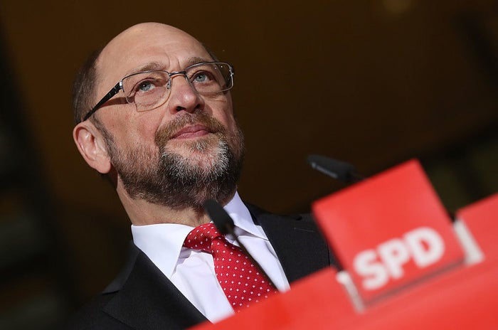Schulz is the leader of the Social Democratic Party. He heads the opposition and is widely seen as Angela Merkel's main competitor in the upcoming September elections.