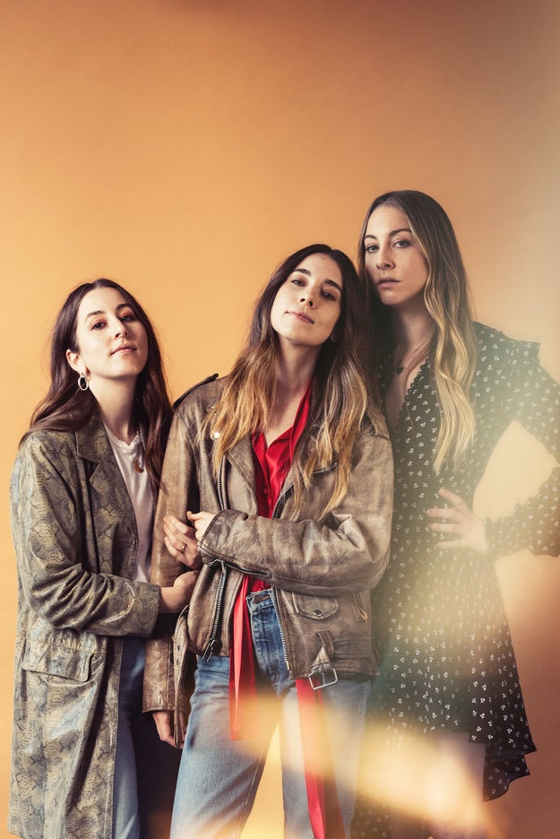 The Haim Sisters Prove They Never Back Down From A Dare