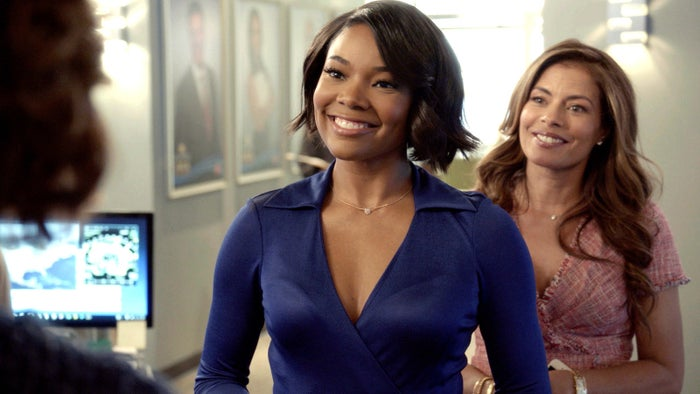 A sneak peek of Gabrielle Union as Mary Jane Paul and Lisa Vidal as Kara Lynch in the second half of Being Mary Jane Season 4.