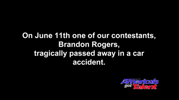 The segment opened with a silent title card explaining the significance of the audition.