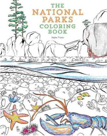 A National Parks Coloring Book For Those Chill Afternoons At The Campsite