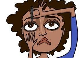 Aplicar nuevo maquillaje sobre el anterior porque te dio flojera limpiarlo hace varios días.
