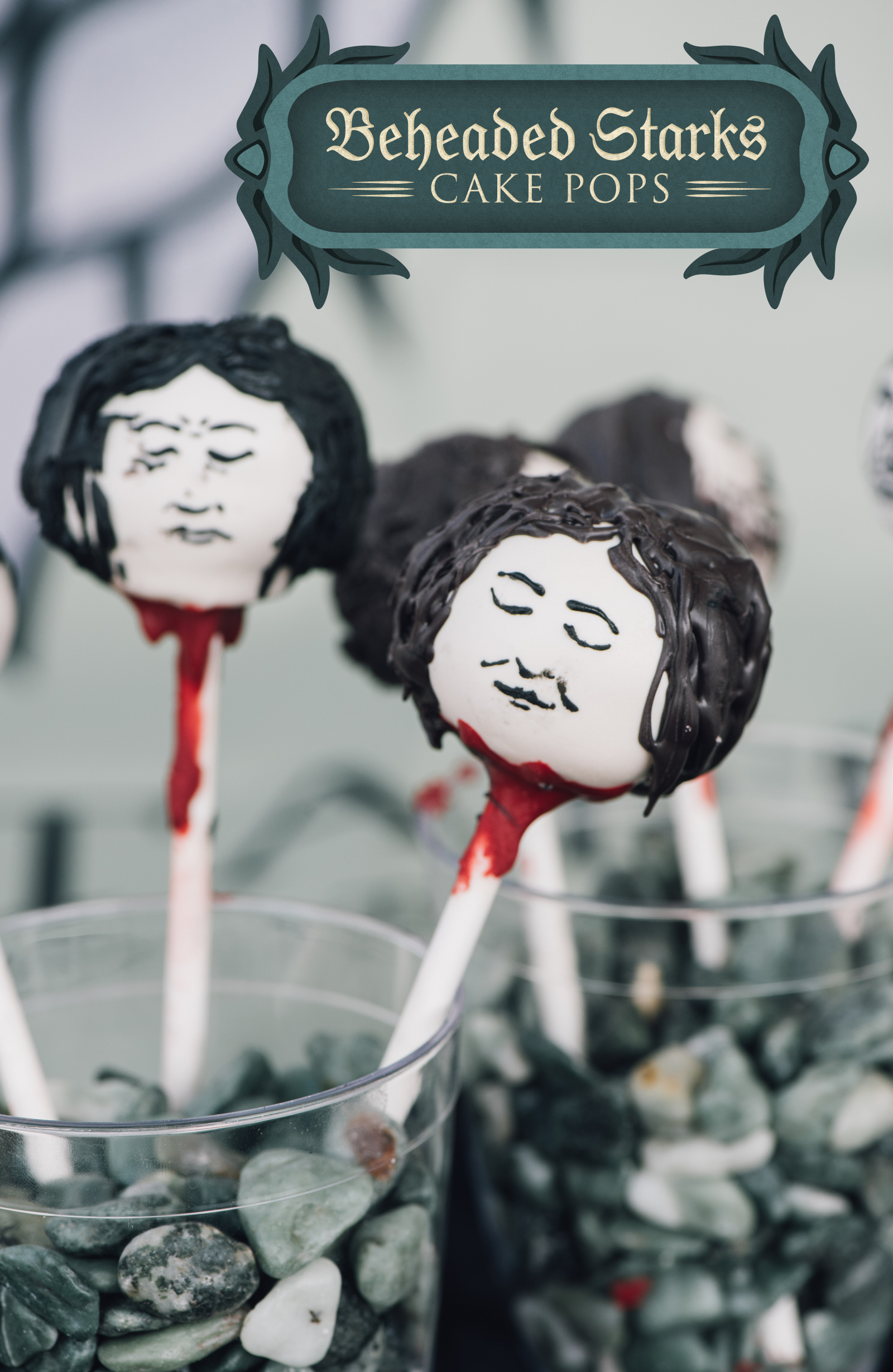 I love the Starks dearly, so I feel very guilty about these lemon cake pops. But also not really, because they're fun, tasty, and a Pinterest favorite.