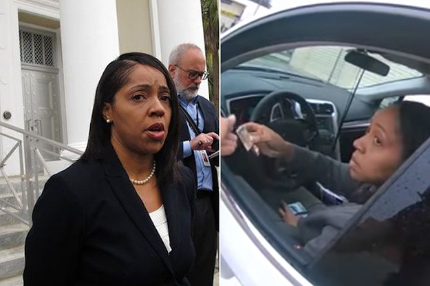 Video Shows Florida's First Black State Attorney Asking Cops Why They Pulled Her Over