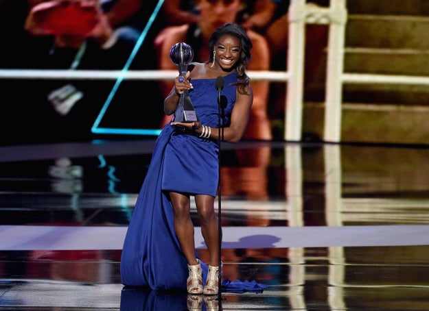 ICYMI last night was the 2017 ESPY Awards. Some athletes honored were Michael Phelps, Russell Westbrook, and Simone Biles.