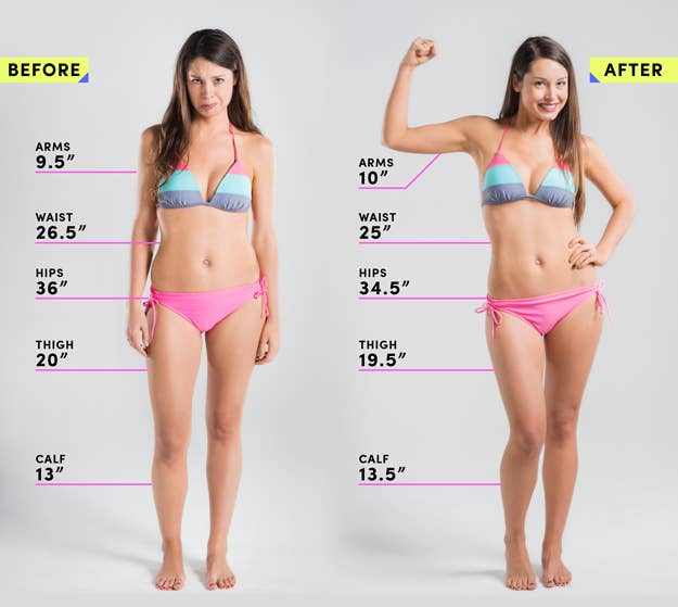 We Did An Eight-Week Bikini Body Workout And Here Are The Results