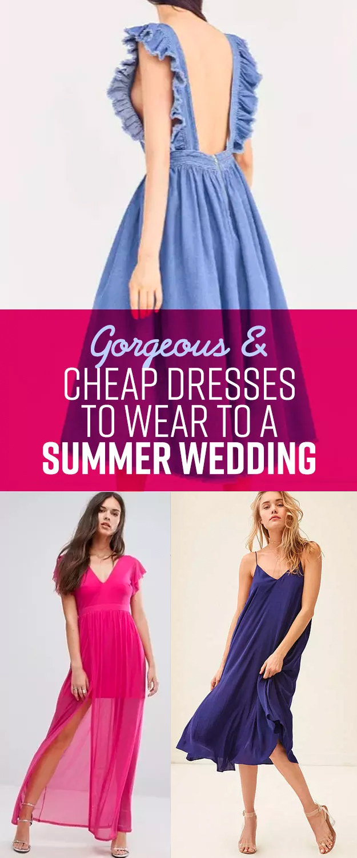 What to Wear Summer Wedding Dress