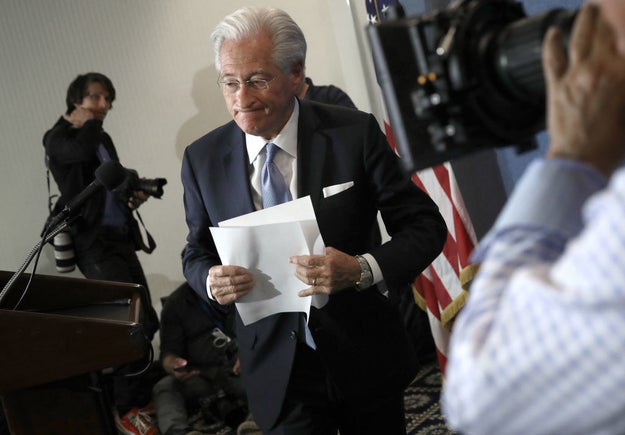 This is Marc Kasowitz, President Trump's lawyer.