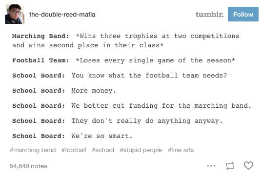 25 Facts You Know To Be True If You Were In A High School Marching Band