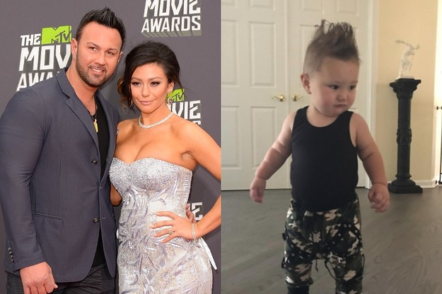 JWoww's Husband Just Might Be The Funniest Dad On Instagram