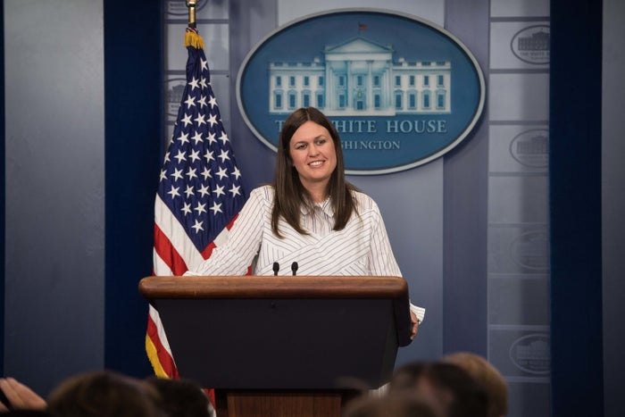 Three times this week, White House spokesperson Sarah Huckabee Sanders couldn't answer a question on the administration's view of Russia.