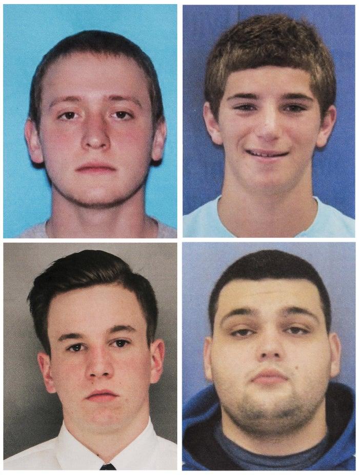 Tom Meo, top left; Jimi Tar Patrick, bottom left; Dean Finocchiaro, top right; and Mark Sturgis, bottom right.