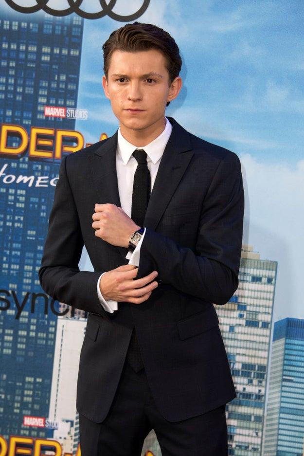 So, I recently started stanning Tom Holland because, duh.