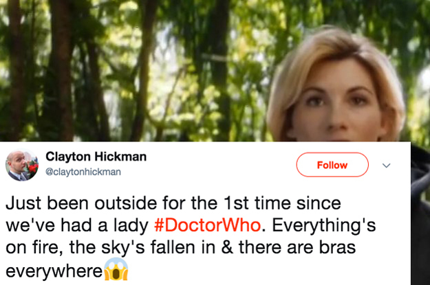 """Some People Whined Out About """"Doctor Who"""" Casting A Woman And People Are Hilariously Trolling Them"""