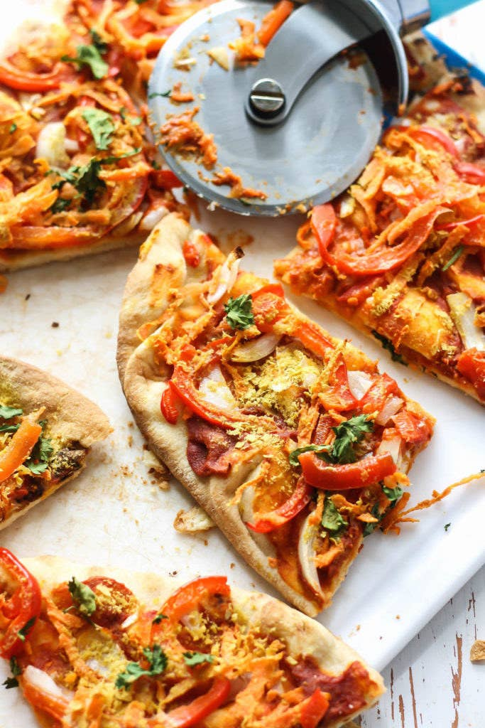 You may never crave your classic Margherita pizza again, thanks to this 20-minute flatbread recipe. Get the recipe.