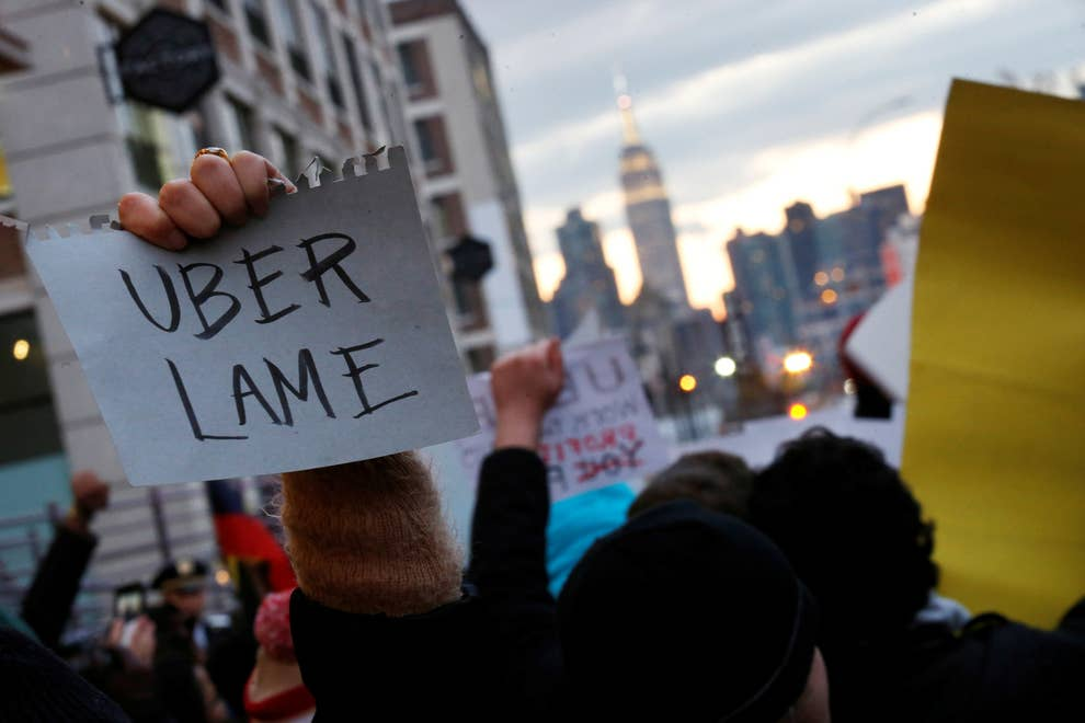 How Uber's Hard-Charging Corporate Culture Left Employees