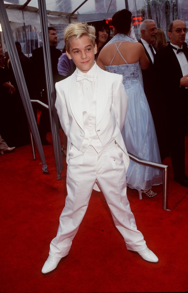 When he proved he could seriously pull off a tux: