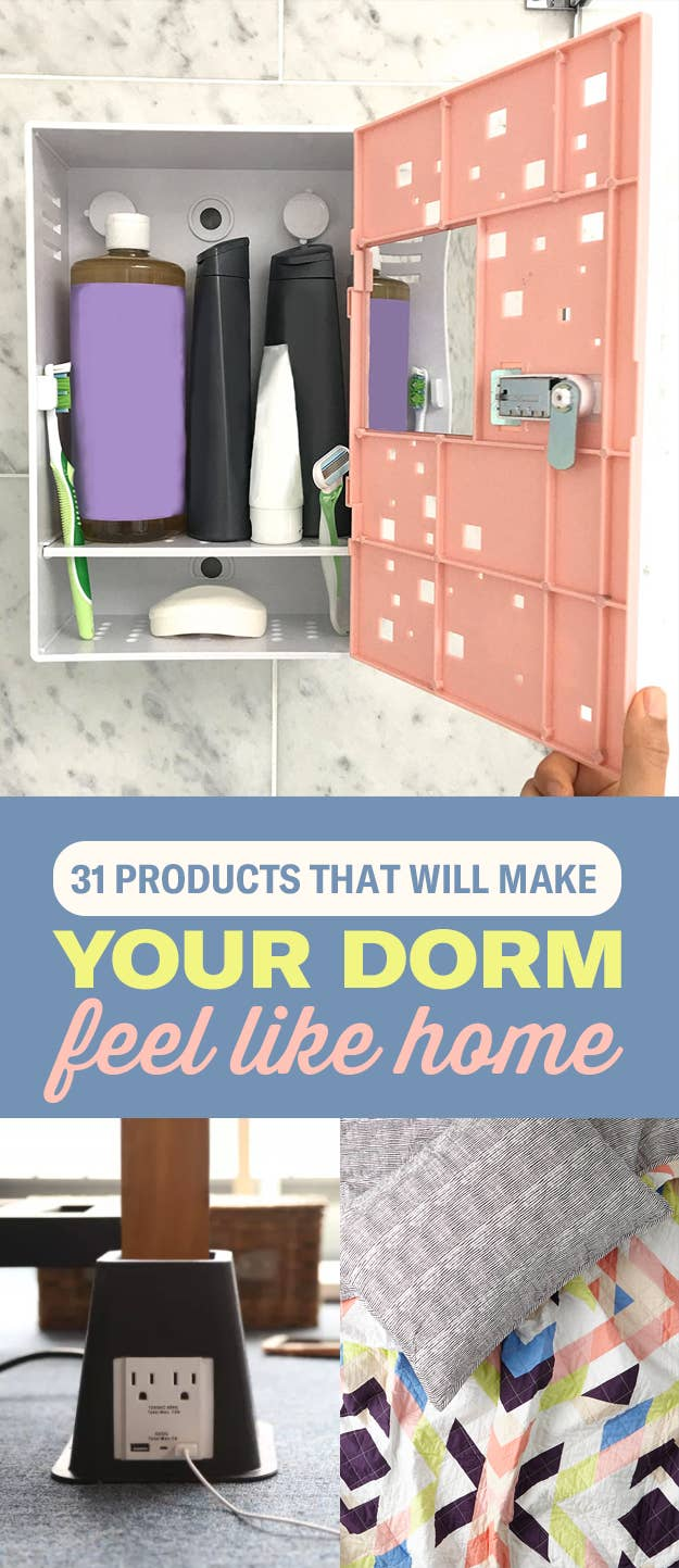 31 Products That Will Make Your Dorm Room Feel Like Home