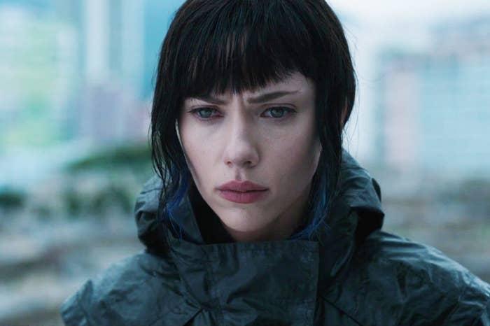 Scarlett Johansson in 2017's Ghost in the Shell.
