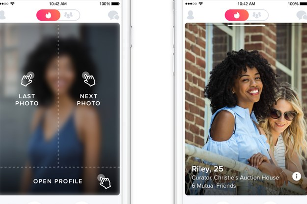 Tinder's New Look Puts Even More Emphasis On Your Profile Pics