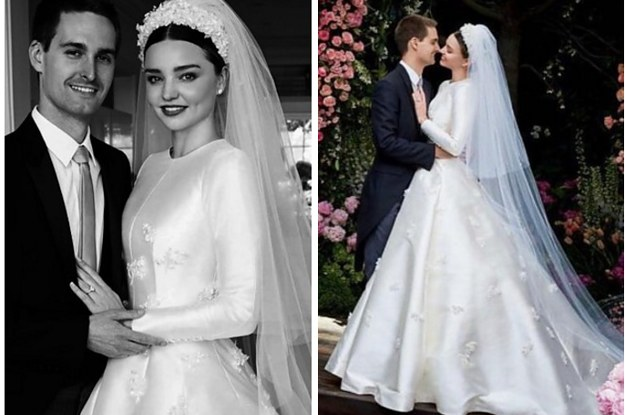Miranda Kerr Shared Her Wedding Photos And Wow, The Dress