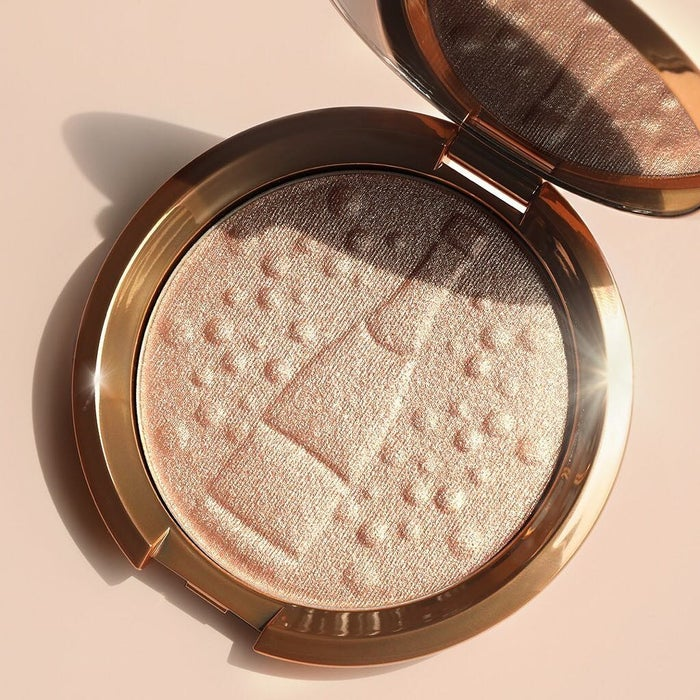 """Promising review: """"First high-end highlighter and totally worth it. You can either put on just a bit to give a natural glow or build it up and it will be BLINDING. It's just so amazing. Stays on really well and just the right amount of shimmer. A little goes a long way."""" —Lanyi HuangGet it from Sephora for $38 (available in regular Champagne Pop packaging as well as seven additional shades)."""