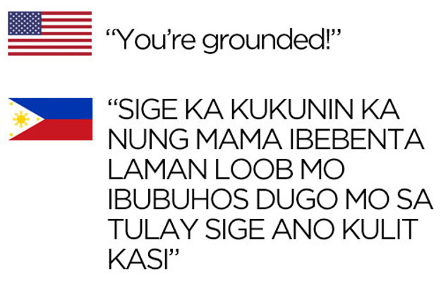 25 Photos That Perfectly Sum Up The Difference Between American And Filipino Parents