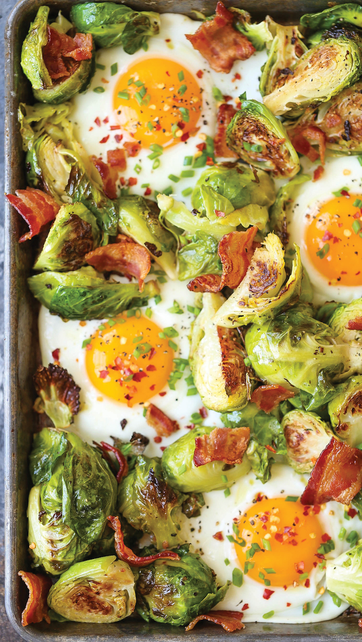 Sheet pan eggs! Get the recipe here.