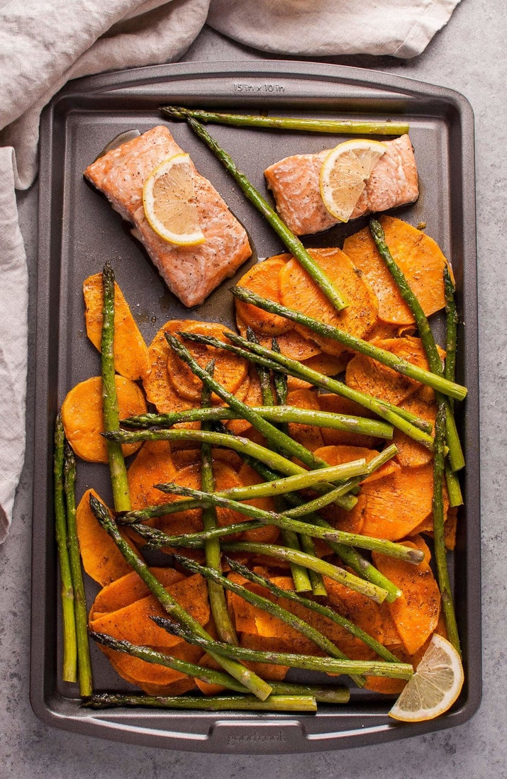 A protein and flavor-packed dinner. Get the recipe here.